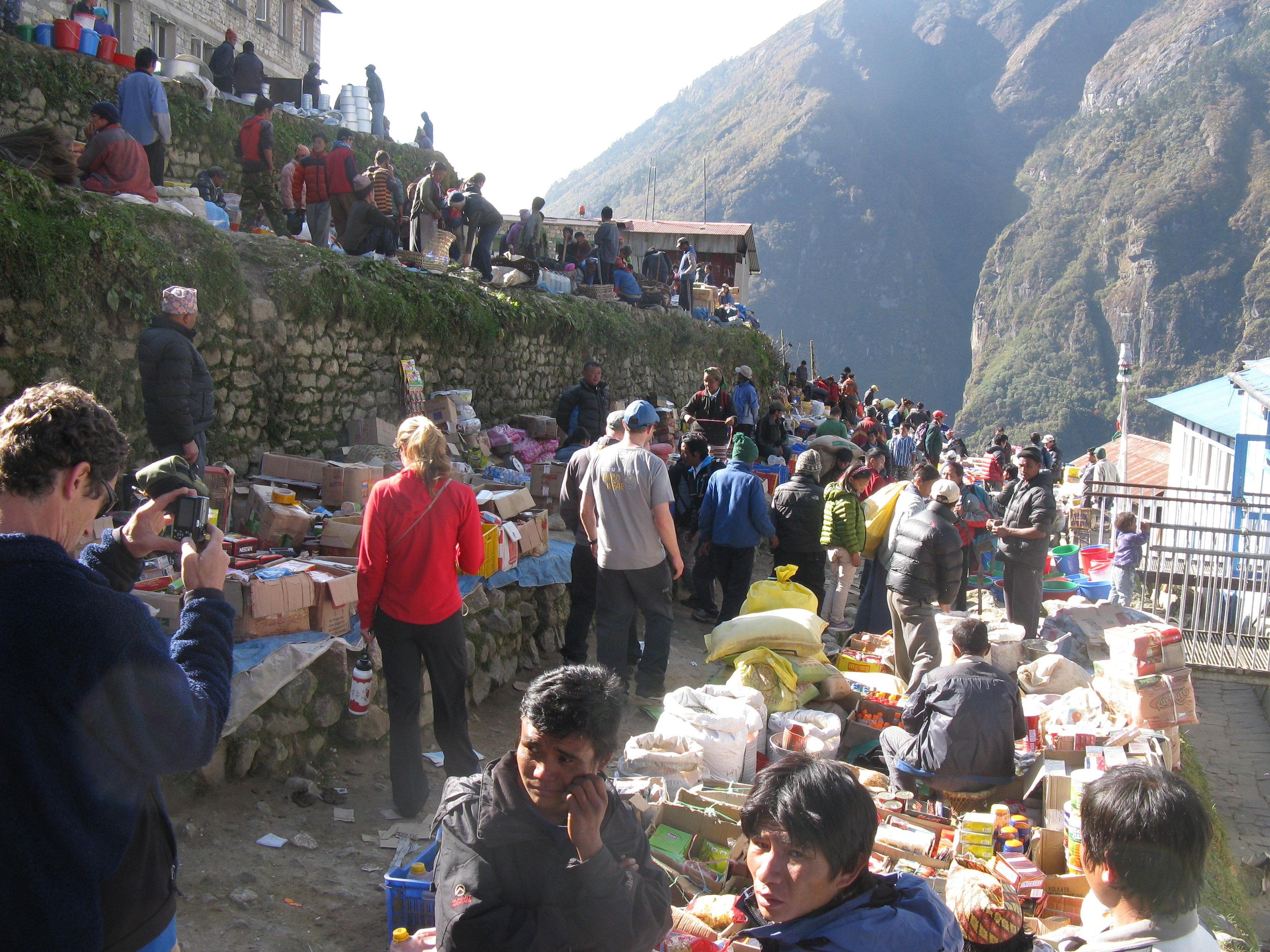 Greetings From Namche Bazaar | IMG blog