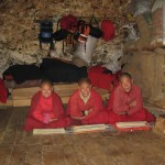 Monks in Lingshi (Photo: John Dahlem)