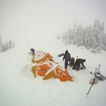 A true winter seminar on Mt. Rainier. (Photo by Jonathan Lehman)