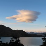 Lenticular cloud formation over Lake Nordenskold (Photo: Tye Chapman)