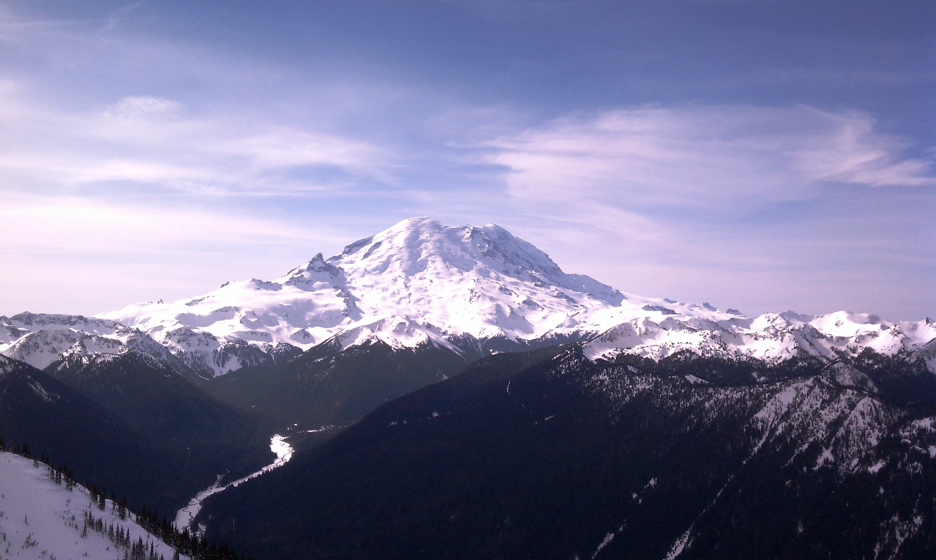 Mt. Rainier. (Photo by Dustin Balderach)