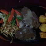 Yak sizzler plate at Khumbu Lodge (Ted H.)