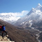 Everest and Ama Dablam (photo: Eric Simonson)
