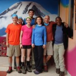 Eben & the Kili team ready to go!