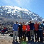 Team at top of Barranco Wall (Eben Reckord)