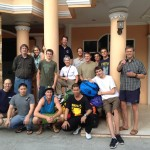 Team at Hotel in Timika
