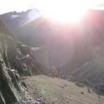 Climbing. (Dan Zokaites)