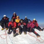 Huayna Potosi Summit Team (Greg Vernovage)