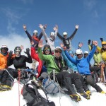 Summit Team Pequenyo Alpamayo (Greg Vernovage)