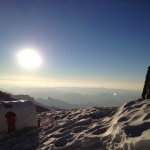 Sunrise at Camp Muir. (Erika Bjornson)