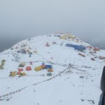 Fresh snow at Base Camp (Phunuru Sherpa)
