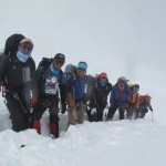 IMG Sherpa Team just below C1 (Phunuru Sherpa)