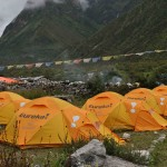 Trekking to Manaslu Base Camp (Lobsang Sherpa)