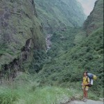 Rugged Trekking in the Marsyangdi Gorge  (Eric Simonson)