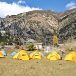 Camp near Manang       (Lobsang Sherpa)