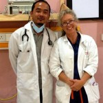 Dr. Jambay Dorjee and Emily (aka Dr. Johnston)