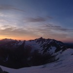 Sunrise on Eldorado Peak (Josh McDowell)