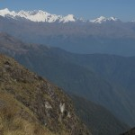 View from trail looking toward Salkantay route (photo: Peter Anderson)