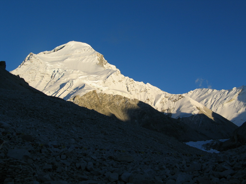 Cho Oyu from Advanced Base Camp  (Ang Jangbu Sherpa)