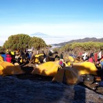 Shira Plateau Camp with view of Mt. Meru to the west  (Eric Simonson)