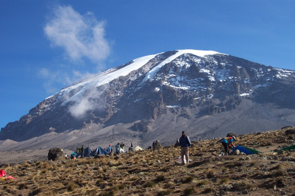 Karanga Camp at 13,000 feet on Kilimanjaro (Eric Simonson)