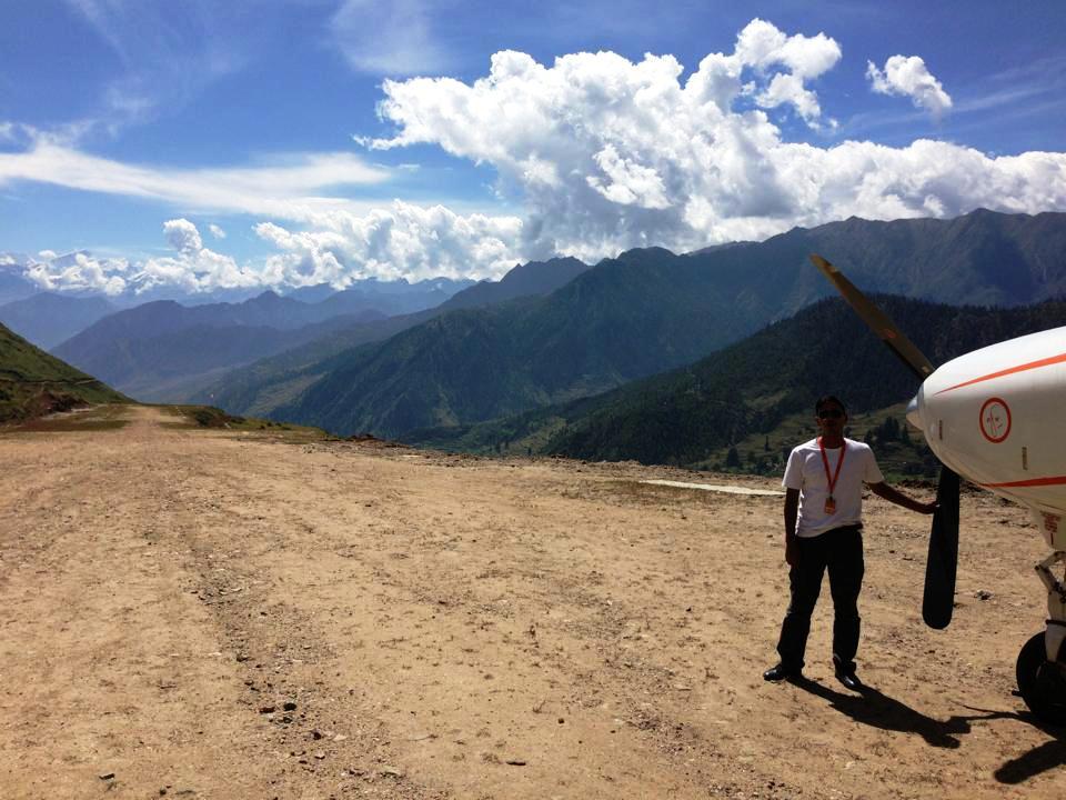 Masinchaur Airport  (Ang Dorje Sherpa)