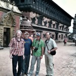 The team visits Bhaktipur.