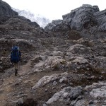 Getting close to Carstensz Base Camp   (photo: Jason Edwards)
