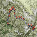 Dolpo Trek map