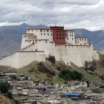 Behind the Potela Palace in Lhasa  (photo: Pasang Tshering Sherpa)