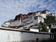 The Potela Palace in Lhasa  (photo: Pasang Tshering Sherpa)