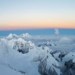 View from the summit of Cho Oyu (photo: Greg Vernovage)