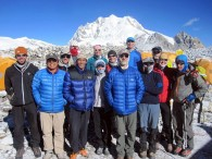 Cho Oyu Team in ABC
