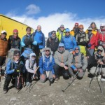 Climbers and Trekkers at ABC