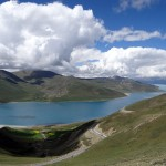 Yamdrok Lake  (photo: Pasang Tshering Sherpa)