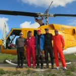 The Crew back in Wamena, safe and sound on the ground! (photo: Nanang)