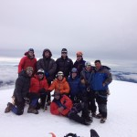 Cotopaxi summit.
