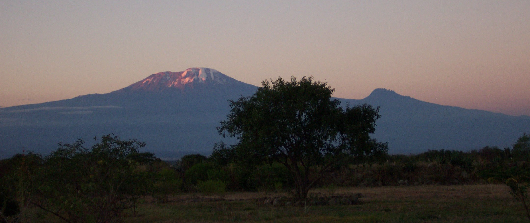 One of many beautiful Kilimanjaro sunsets.