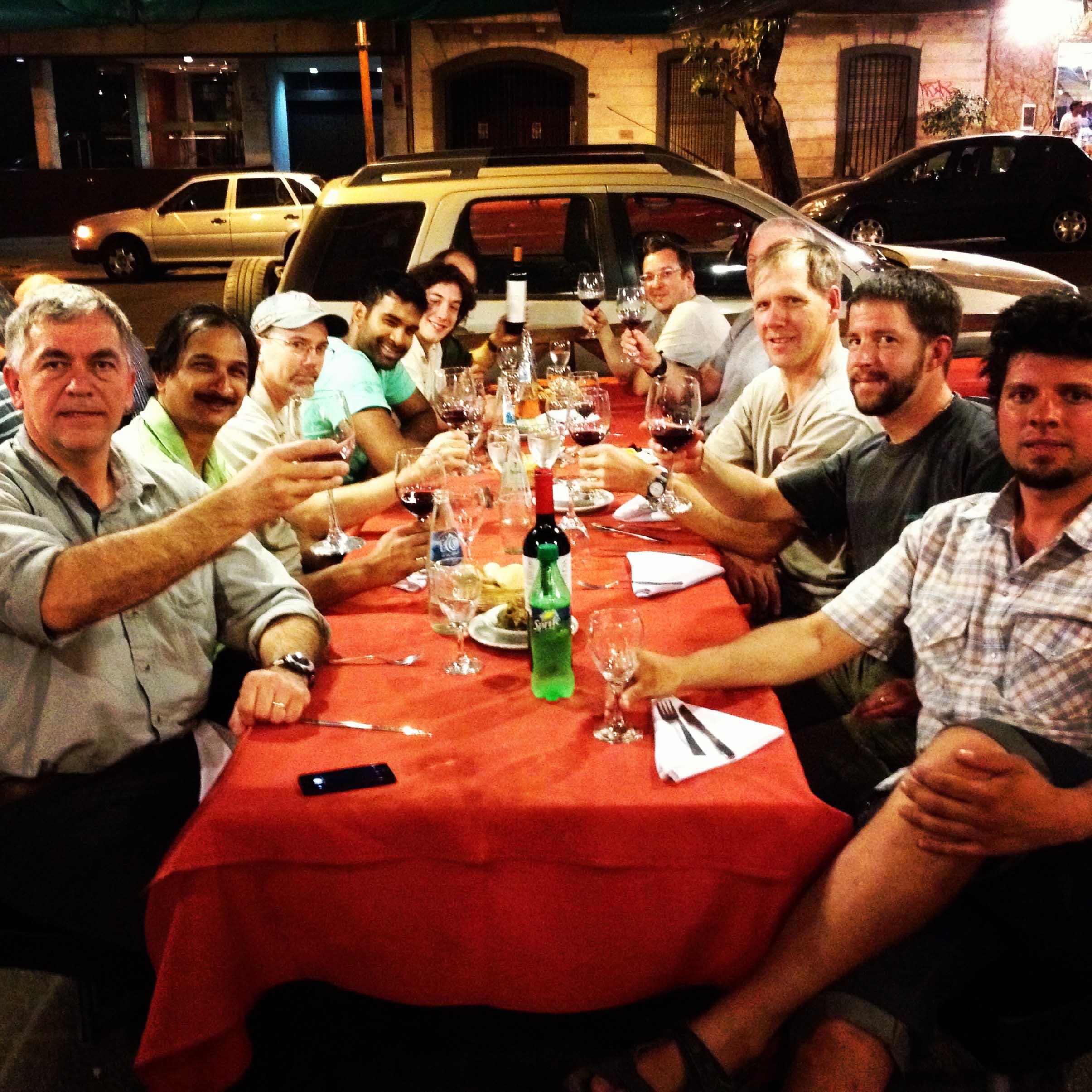 Dinner in Mendoza