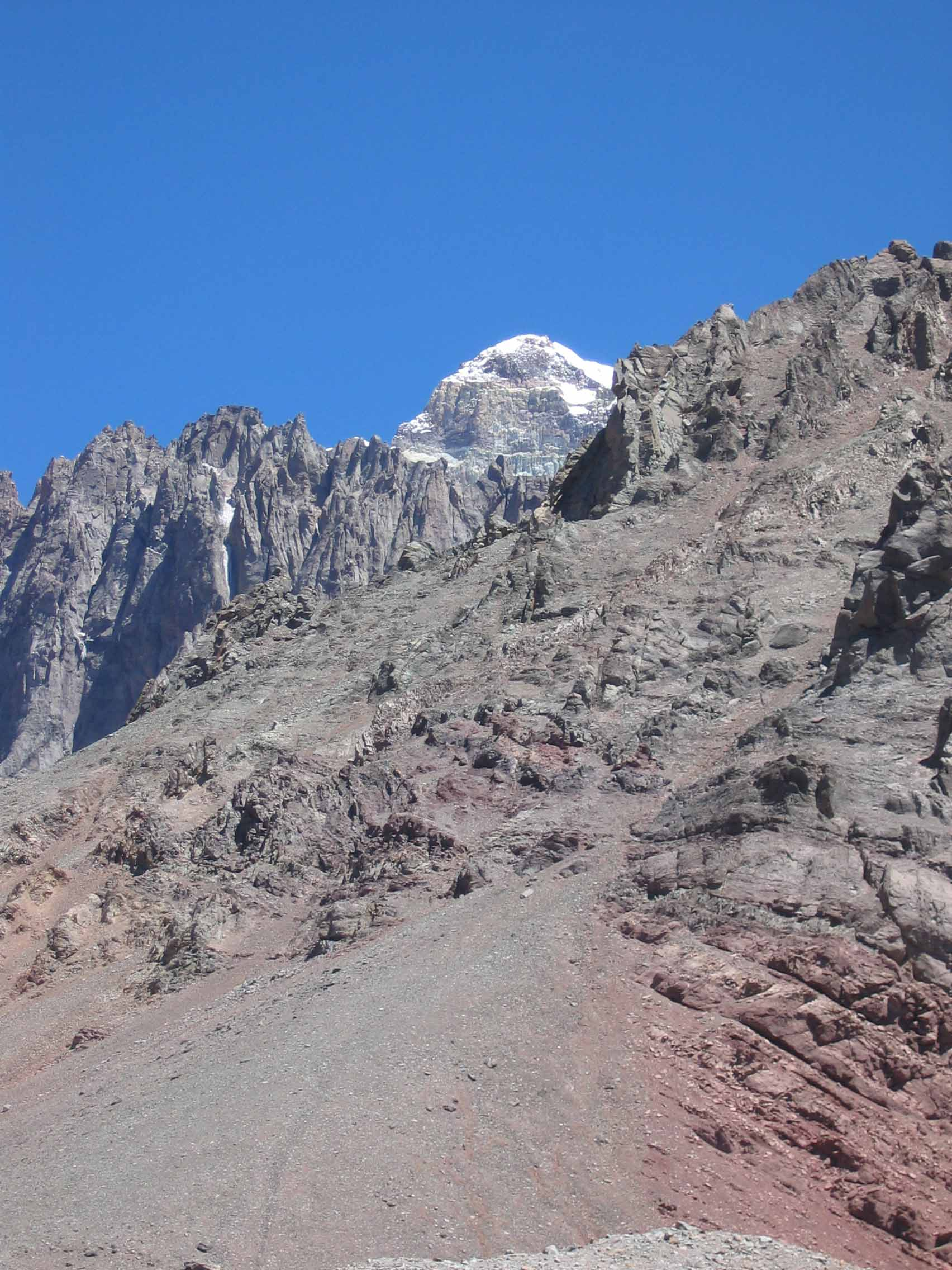 Cool shot of Aconcagua.