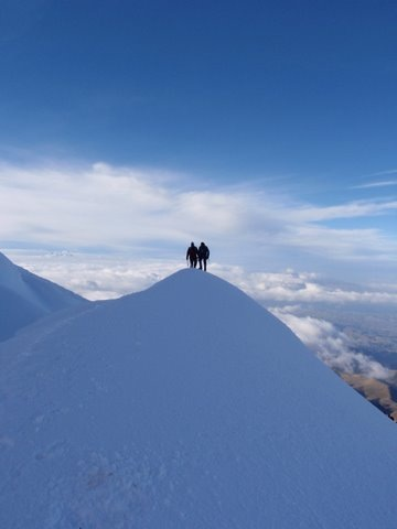 Cayambe in better weather