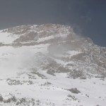 Aconcagua with snow