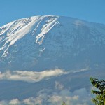 "Kilimanjaro in ""winter white"" – photo by Craig John"