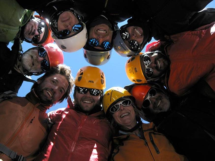 Team on the summit of Aconcagua (Ben Kurdt)
