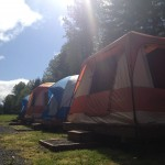 Eureka! tents ready to go.