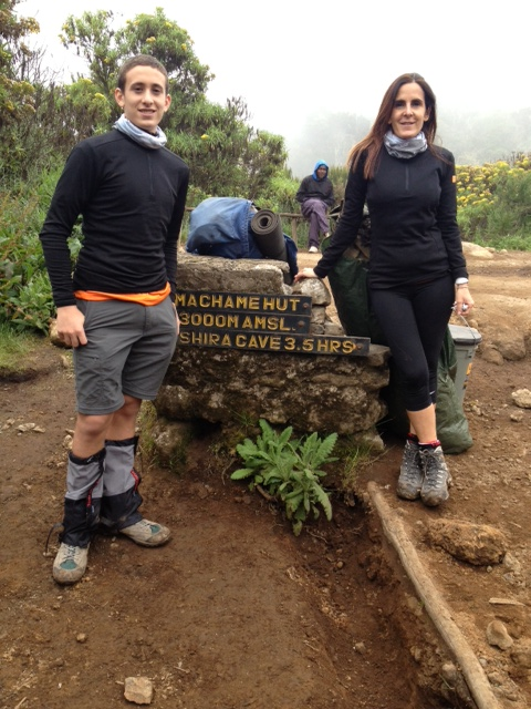 Yesterday at Machame Camp
