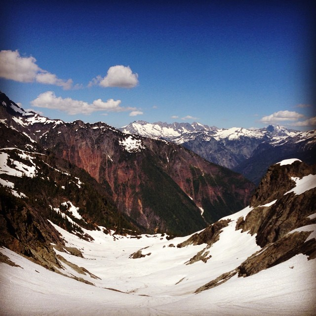 A nice view of the North Cascades from Mt. Shuksan. (Mike Haft)