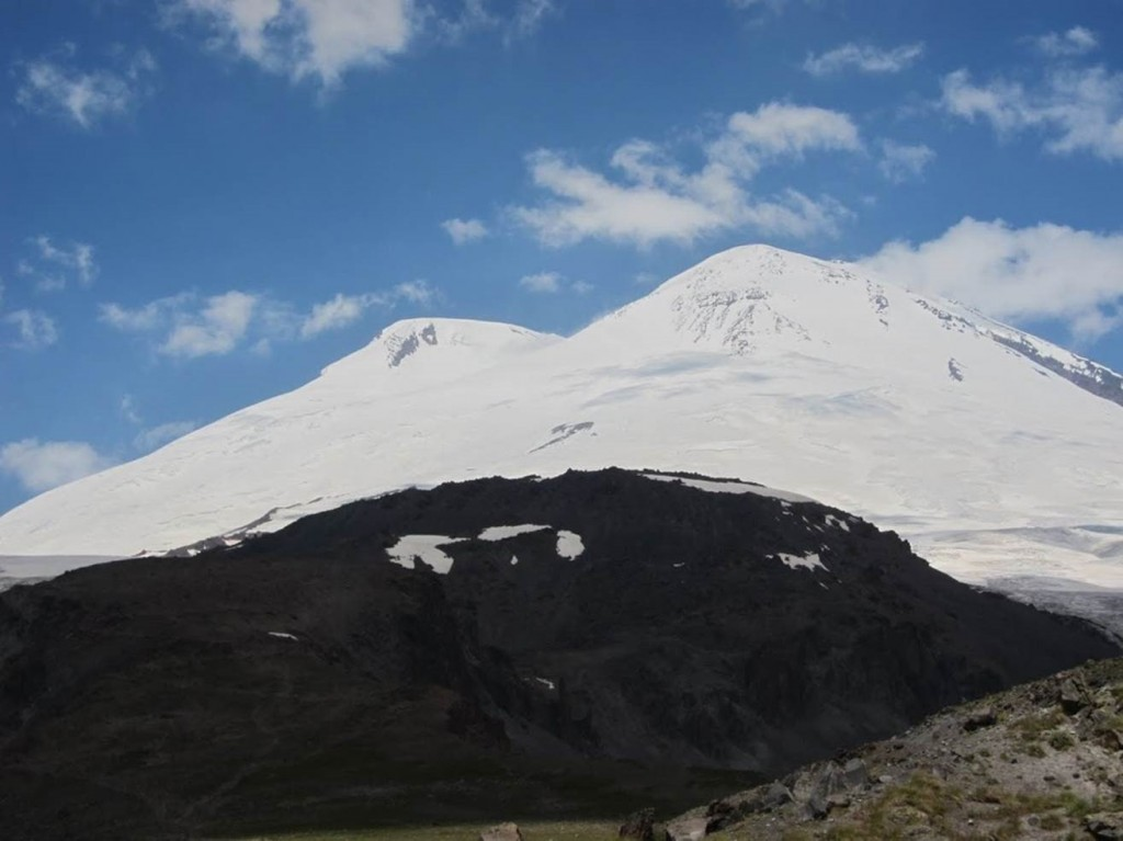 Elbrus from the observatory. (Viki Tracey)