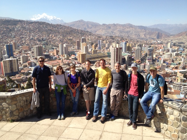 August 2014 Bolivia team in LaPaz (Greg Vernovage)