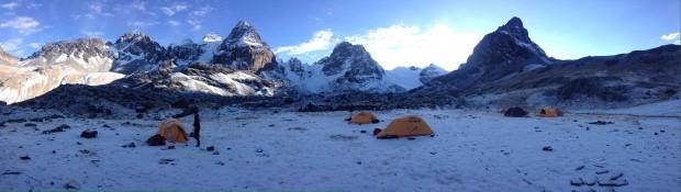 Condoriri Base Camp (Luke Reilly)
